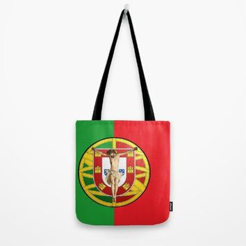 Portuguese religious culture Tote Bag by Tony Silveira