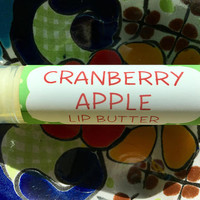 Cranberry Apple Lip Butter ~ Lip Balm ~ Lip Moisturizer