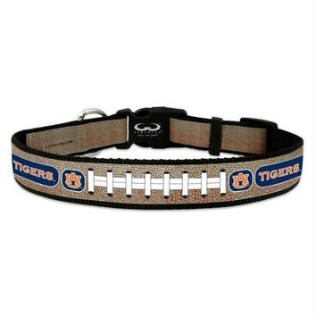 CREYONI Auburn Tigers Reflective Football Pet Collar