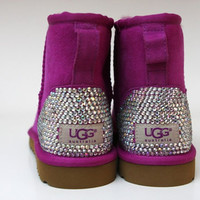 Studded Purple Ugg boots