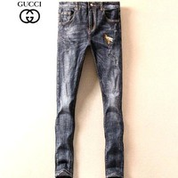 GUCCI  Fashionable casual jeans