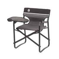 Coleman - Coleman- Portable Deck Chair with swivel table - Aluminum Deck Chair with Swivel Table
