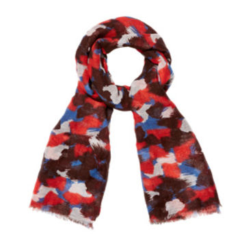 Abstract Paint Scarf