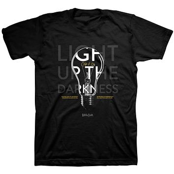 Kerusso Light Up the Darkness Christian Unisex Bright T Shirt