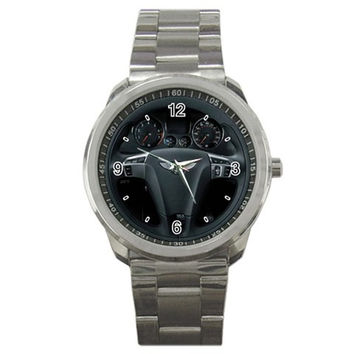 Bentley Continental GT SuperSports Steering Wheel Sport Metal Watch