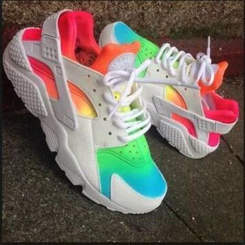 DCCKU62 Sale Nike Air Huarache 1 Multicolor Men Women Hurache Running Sport Casual Shoes Sneakers - 11