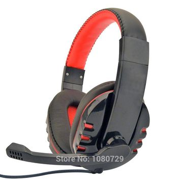 Brand Deep Bass Game Headphone Stereo 3.5mm Over-Ear Gaming Headset Headband Earphone with Microphone for Computer PC Gamer