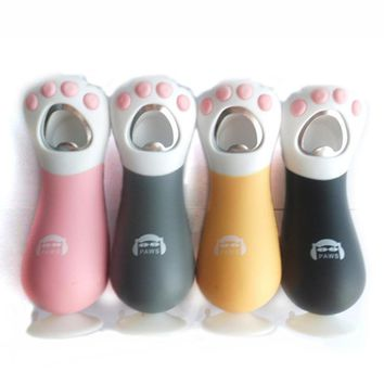 1PC Version Cat Claws Bottle Opener Beer Drink Bar Kitchen Tool With Collection Paw Glass Wine Opener Acceseasy Grip KC1514