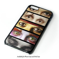 Johnny Depp Makeup Design for iPhone and iPod Touch Case