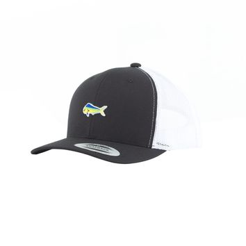 Salty Crew Happy Fish Trucker Hat