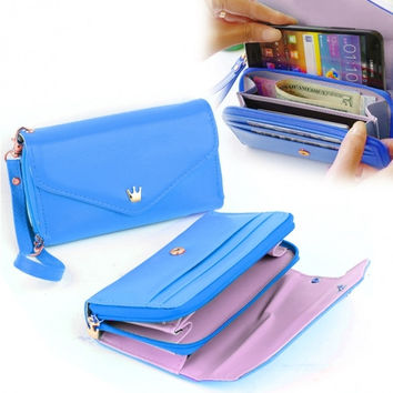 Hot Selling Fashion Wallets Women Small Bag Convenient And Practical Coin Wallets PU Purses Phone Holder