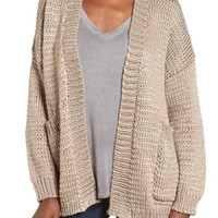 Dreamers by Debut Open Cotton Blend Cardigan | Nordstrom