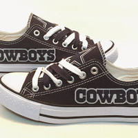 Dallas Cowboys Women Canvas Shoes