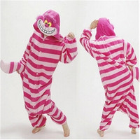 Unisex Women Men Adult Kigurumi Animal Sleepsuit Pajamas Winter Warm Sleepwear Costume Onesuit