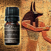 Anubis Cologne Oil: 5mL Amber Bottle, 10mL Roll-on Bottle, Amber Incense, Egyptian God, Unisex Fragrance