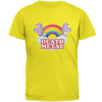 Death Metal Rainbow Mens T Shirt