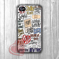 song collage art TS-1nna for iPhone 4/4S/5/5S/5C/6/ 6+,samsung S3/S4/S5,S6 Regular,S6 edge,samsung note 3/4