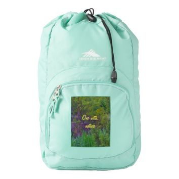 One With Nature High Sierra Backpack