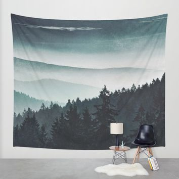 Mountain Light Wall Tapestry by Tordis Kayma | Society6