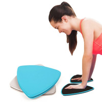 1 pair Fitness Gliders Gym Slider Workout Discs Core Ab Exercise Gym Training Slimming Abdominal Equipment Fitness Slide Discs