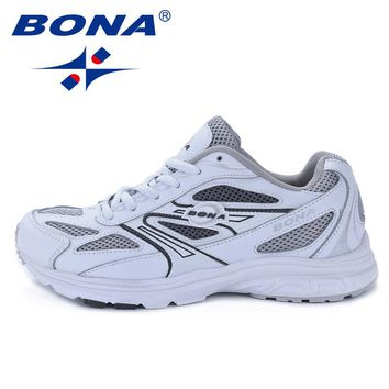 BONA New Classics Style Women Running Shoes Breathable Upper Outdoor Walking Jogging Sport Shoes Comfortable Ladies Sneakers