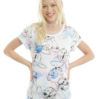 Disney Lilo & Stitch Watercolor Girls T-Shirt