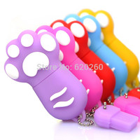 New Cartoon Cat Claw Usb flash drive 4gb/8gb/16gb/32gb cat's claw usb flash drive usb, pendrive/car/gift/disk ,64gb pen drives