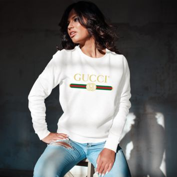 Gucci Inspired Unisex Crew Neck Sweatshirt [03096]