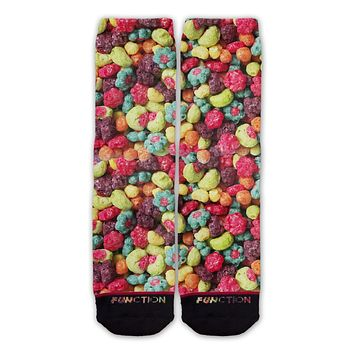 Function - Tricky Fruity Breakfast Cereal Fashion Sock