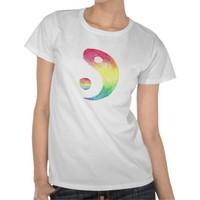 Rainbow Yin and Yang from Zazzle.com