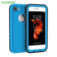 FLOVEME iPhone7 Waterproof Case for iPhone 7 Water Proof Cover Sports Diving 360 Degree Protection Phone Coque for iPhone 7 Capa