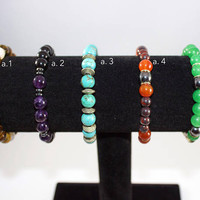 Gemstone Bracelets ||8mm||