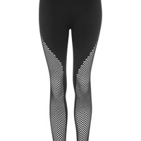 Fishnet Seamless Ankle Leggings by Ivy Park - Ivy Park - Clothing