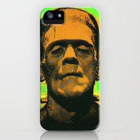 frankenstein iPhone Case by ricksales