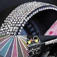 1760pcs BLING Crystal Diamonds Rhinestone Car & Phone Decoration Sticker (Silver)