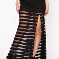 Kirra Steady As She Goes Skirt at PacSun.com