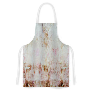 "Suzanne Carter ""Florian"" Pink Artistic Apron"