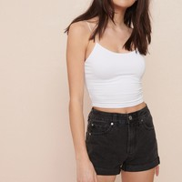 Cutoff Mom Shorts