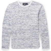 Grayers - Peter Slubbed Linen and Cotton-Blend Sweater | MR PORTER