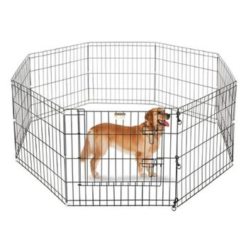 "Walmart: Pet Trex 24"" Playpen for Dogs Eight 24"" x 24"" High Panels"