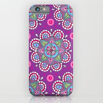 Star Flowers iPhone & iPod Case by Sarah Oelerich