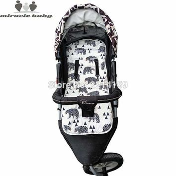 Baby Washable /Removable Stroller Seat Cushioning Pad
