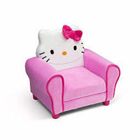 Hello Kitty Deluxe Upholstered Chair