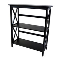 Yu Shan Montego Bookcase In Black