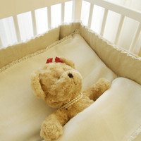 Nursery, baby  bedding  100% Linen -  3 pcs.