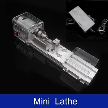 DIY Mini Lathe Polisher Grinder Driller Table Saw Machine Polishing Cutting Tools For Woodworking