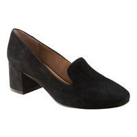 Mid-Heel Smoking Slipper | Banana Republic