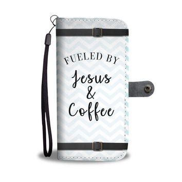Fueled By Jesus And Coffee Christian Phone Case