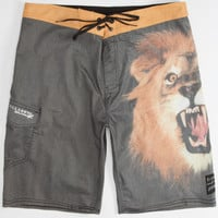 Billabong White Mike Wild Mens Boardshorts Gold  In Sizes