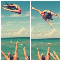 collegiate cheer girl — cheetah-bows-and-nike-pros: The amazing Maison...